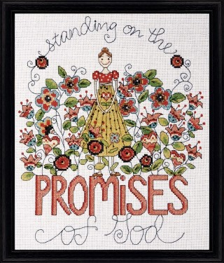 click here to view larger image of Promises (counted cross stitch kit)