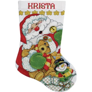 click here to view larger image of Santa Stocking (counted cross stitch kit)
