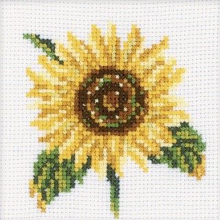 click here to view larger image of Sunflower (counted cross stitch kit)