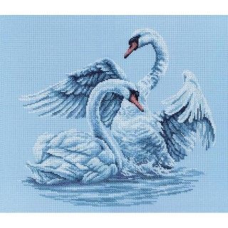 click here to view larger image of Swan Fidelity (counted cross stitch kit)