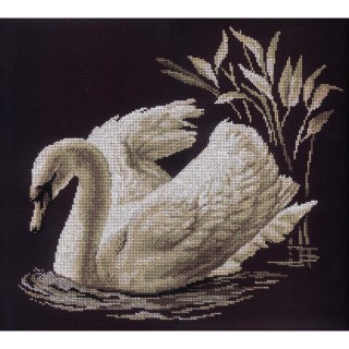 click here to view larger image of Swan  (counted cross stitch kit)