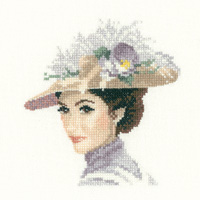 click here to view larger image of Rebecca (Miniature Elegance) (counted cross stitch kit)