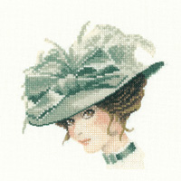 click here to view larger image of Charlotte (Miniature Elegance) (counted cross stitch kit)