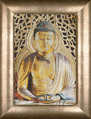 click here to view larger image of Buddha (counted cross stitch kit)