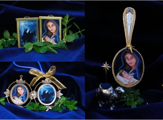 click here to view larger image of Starry Starry Night Part III (Includes Pendant frame) (chart)