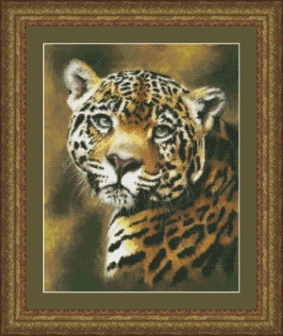 click here to view larger image of Jaguar Portrait (chart)