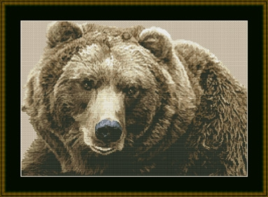 click here to view larger image of Brown Bear (chart)