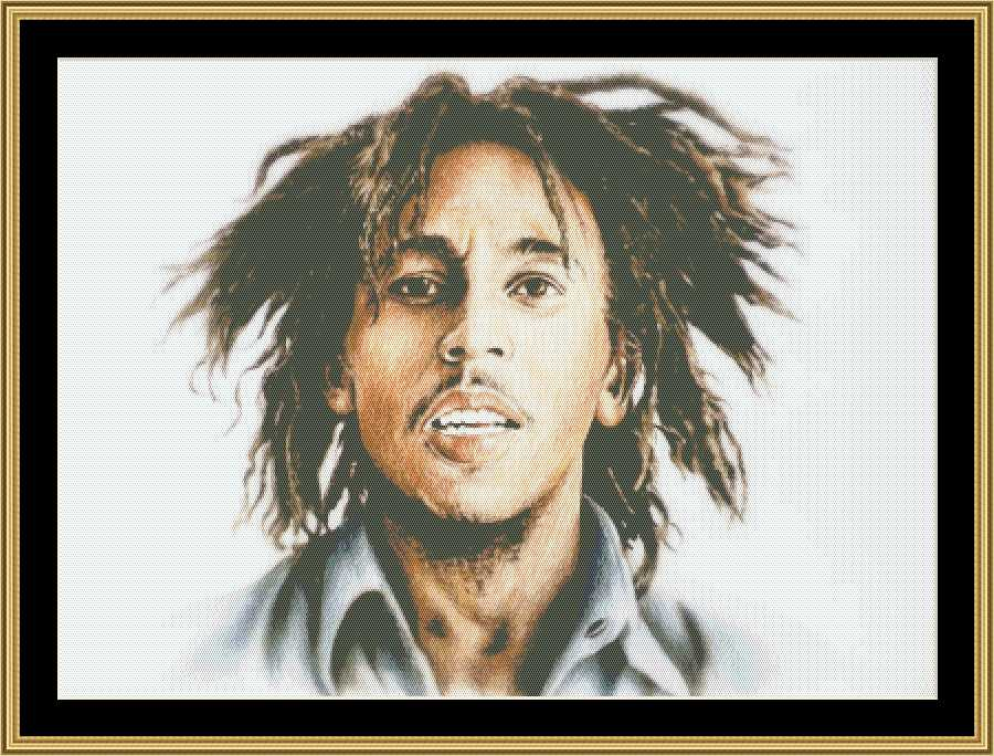 click here to view larger image of Bob Marley (chart)