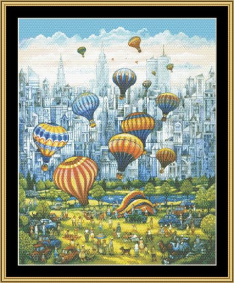 click here to view larger image of Central Park Balloons (chart)