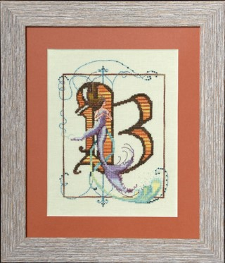 click here to view larger image of Letters From Mermaids - B (chart)