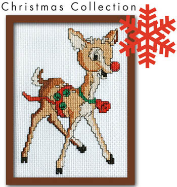 click here to view larger image of Retro Rudolph (chart)