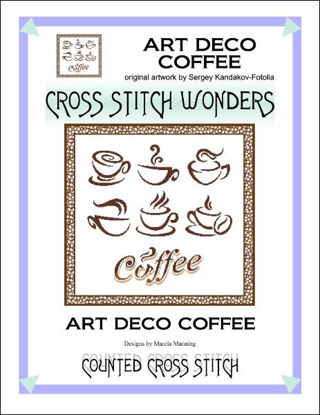 click here to view larger image of Art Deco Coffee (chart)