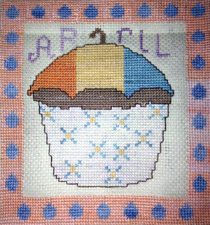 click here to view larger image of April Cupcake of the Month (chart)