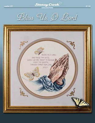 click here to view larger image of Bless Us, O Lord (chart)