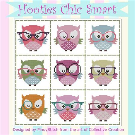 click here to view larger image of Hooties Chic Smart (chart)