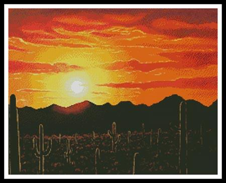 click here to view larger image of Arizona Sunset (chart)