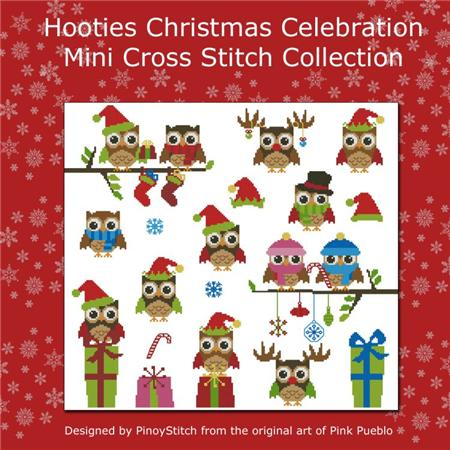 click here to view larger image of Hooties Christmas Celebration (chart)