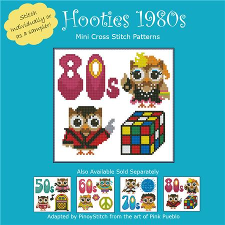 click here to view larger image of Hooties 1980s (chart)