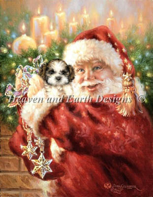 click here to view larger image of Mini Shih Tzu For Christmas (chart)