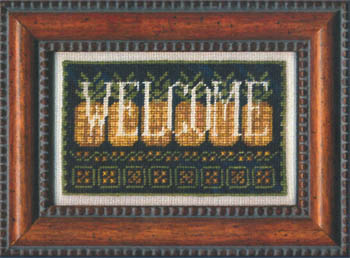 Sign of Welcome - click here for more details about chart