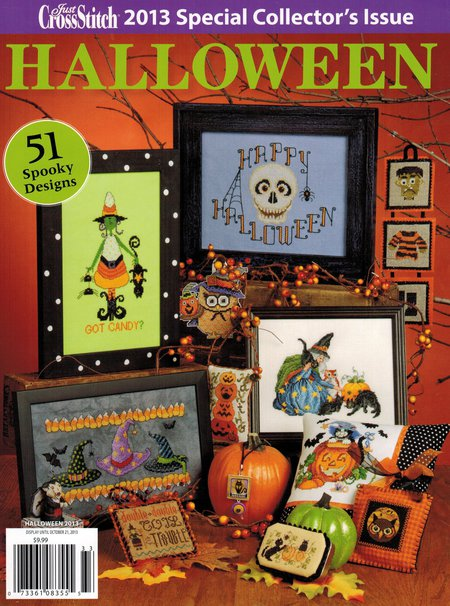 click here to view larger image of Just Cross Stitch  -  2013 Halloween Collection (magazines)