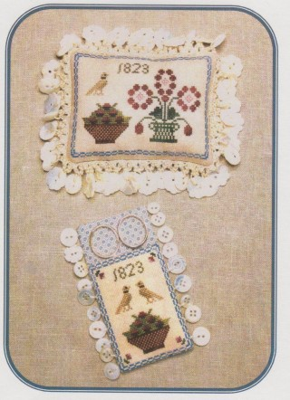 click here to view larger image of Ann Blockley's Pin Cushion & Scissors Keep (chart)
