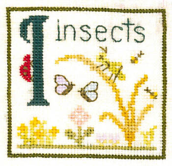 click here to view larger image of I is for Insects (chart)