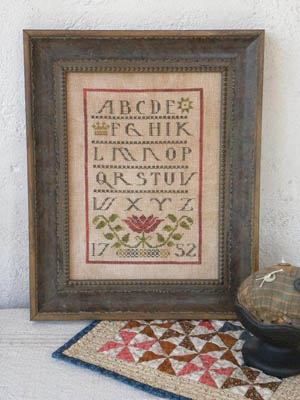 click here to view larger image of Ann's Sampler  (chart)