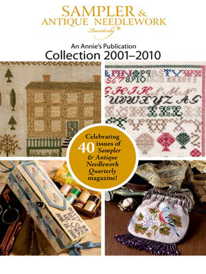 click here to view larger image of Sampler & Antique Needlework Quartly Collection 2001 - 2010 (DVD)