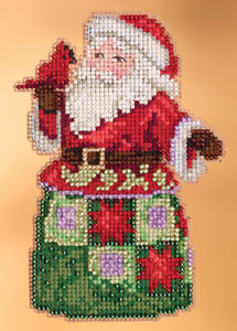 click here to view larger image of Christmas Spirit Santa (2013) (counted cross stitch kit)