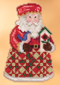 click here to view larger image of Cozy Christmas Santa (2013) (counted cross stitch kit)