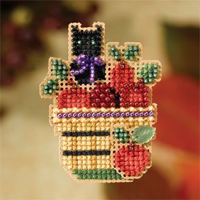 click here to view larger image of Apple Basket Pin (2007) (bead kit)