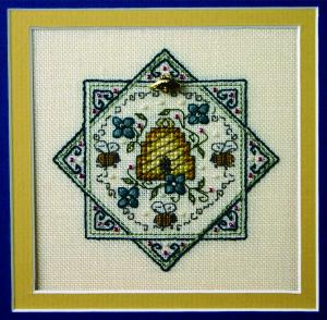 click here to view larger image of Bumbler Bees (counted cross stitch kit)