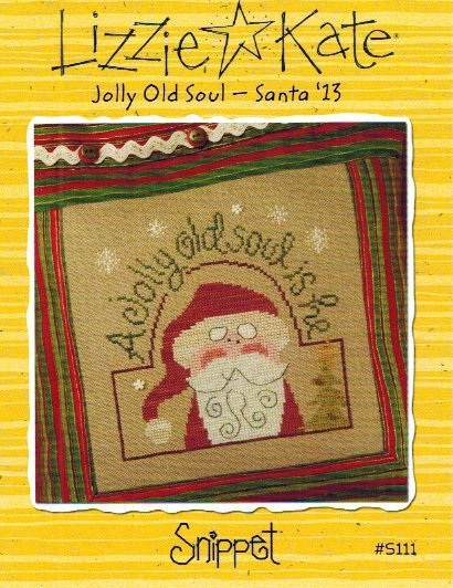 click here to view larger image of Jolly Old Soul Santa 2013 (chart)