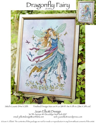 click here to view larger image of Dragonfly Fairy (chart)