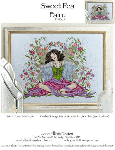 click here to view larger image of Sweet Pea Fairy (chart)