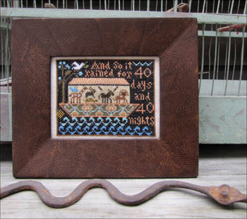 click here to view larger image of Noah's Ark Sampler (chart)