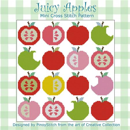 click here to view larger image of Juicy Apples Block (chart)
