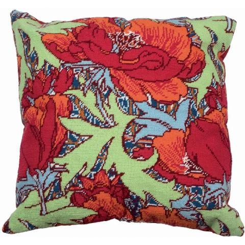 click here to view larger image of Poppy Pillow Needlepoint Kit (needlepoint)