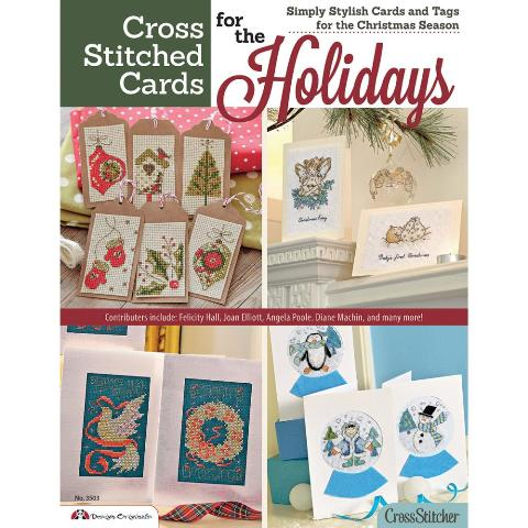 click here to view larger image of Cross Stitch Cards For The Holidays (book)