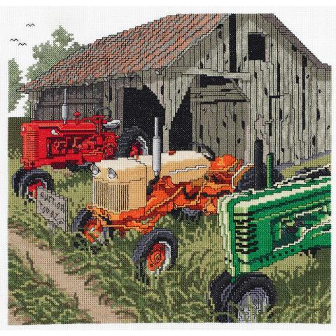 click here to view larger image of Auction Day (counted cross stitch kit)