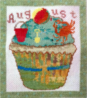click here to view larger image of August Cupcake of the Month (chart)