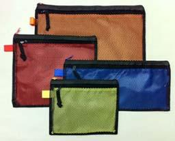 click here to view larger image of Set of 4 Mesh Front Solid Color Back Project Bags (accessory)