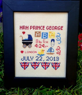 click here to view larger image of Royal Baby Sampler (chart)