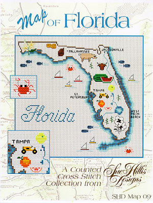 click here to view larger image of Florida  Map (chart)