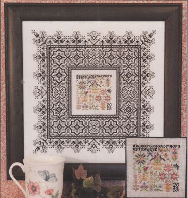 click here to view larger image of Black Lace Sampler (chart)