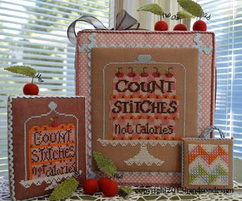click here to view larger image of Count Stitches (chart)