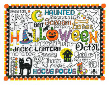 click here to view larger image of Let's Trick or Treat (chart)