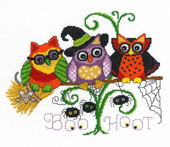 click here to view larger image of Halloween Hoots (chart)