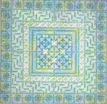 click here to view larger image of Color Delights - Mint (counted canvas chart)